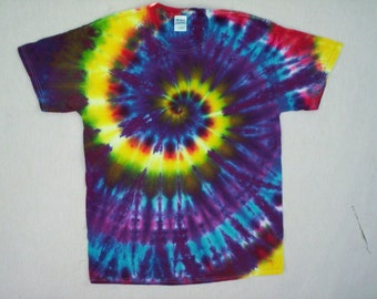 Tie Dye Spiral of the Deep Size Large