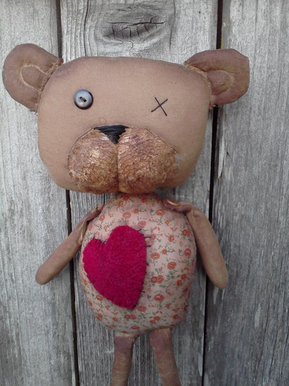 Primitive Teddy Bear