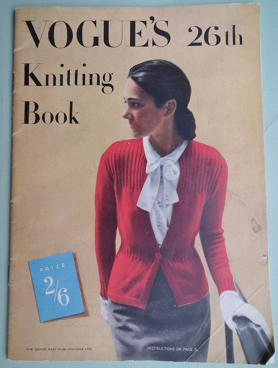 Vintage Vogue Knitting Pattern Books : VOGUE Knitting Book No 26 Knitting Patterns by sewmuchfrippery