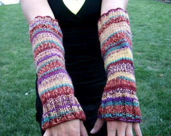 Hand Knit Arm Warmers - Women's Accessories - Knit Arm Warmers - Fall, Winter Accessories