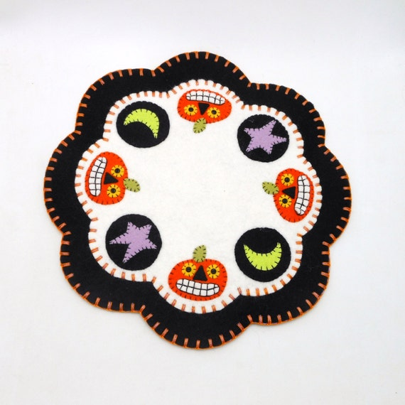 Halloween Penny Rug 11.5 By Maryimp On Etsy