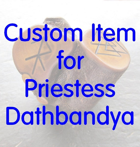 Custom Item for PriestessDathbandya.