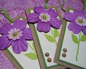 Pretty in Purple Gift Tags/Placecards