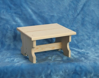 Childrens Wood Stool