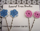 Polymer Clay Bobby Pins