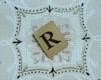 Antique Anagrams Gorgeous Tea Stained Color