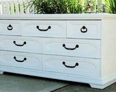 Custom Painted Dresser Furniture - Pricing Upon Request - Handpainted, Shabby Chic, Distressed on Request, Cottage Chic, Hollywood Regency