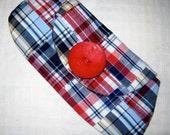 Wallet  Wristlet Purse Clutch Bridesmaids Gifts - Preppy Plaid Womans Fashion