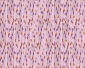 SPRING Sale - 2 3/8 Yards - Novella - Rain in Lavender - Sku Pwvw050 - Valori Wells - Free Spirit