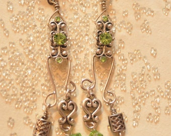 Filigree Dangle Earrings