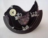 Oh so Tweet... birdy brooch or scarf pin FREE Postage Aust
