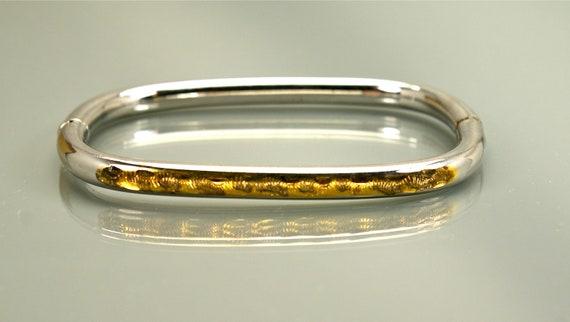 Vintage Sterling Bracelet Italy Bangle Bracelet