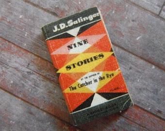 Miniature Book --- Nine Stories of J.D. Salinger