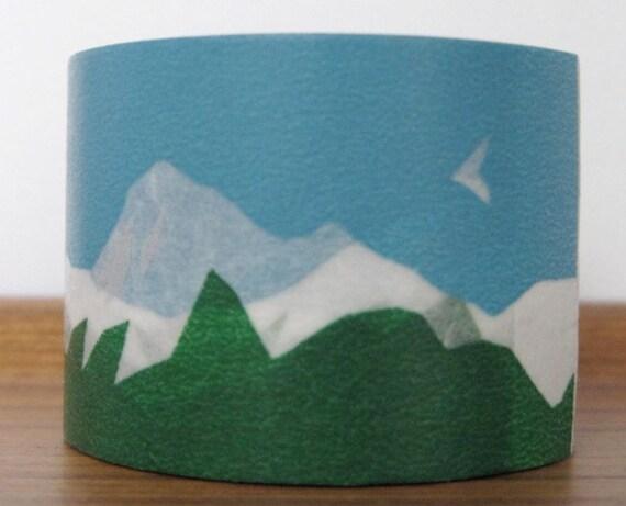 mt  washi masking tape - mountain -  designer mt x mina perhonen
