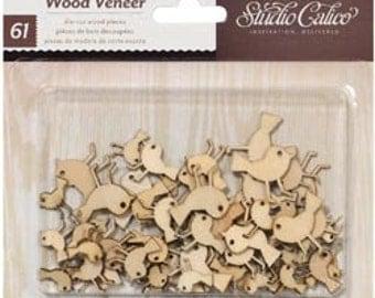 Wood Veneer - Birds - Studio Calico