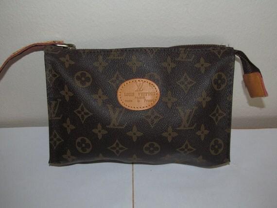 Authentic Vintage Louis Vuitton Clutch Bag