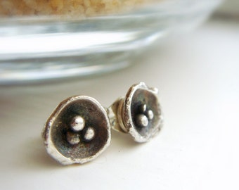 Sterling SIlver Trinity Post Earrings