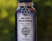 FITH FATH Shapeshifting Artisan Alchemist Occult Oil for Transformation Magick, Enlightenment, Shamanic Journeys, 1 oz