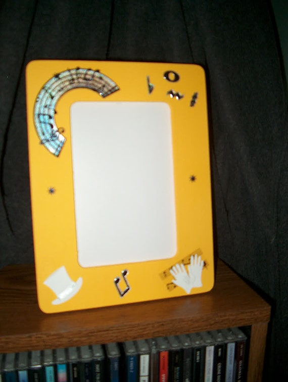 Mardi Gras Photo Frame New Orleans Jazz Music Dance Tap Wood