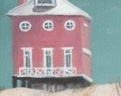 Art Print Florida Beach House