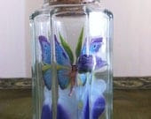 SALE Freshly caught miniature fairy in jam jar, paper weight 3FOR2 Cheapest item FREE