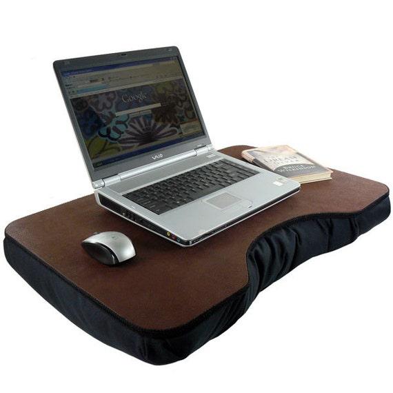 Jumbo Faux Leather Lap Desk