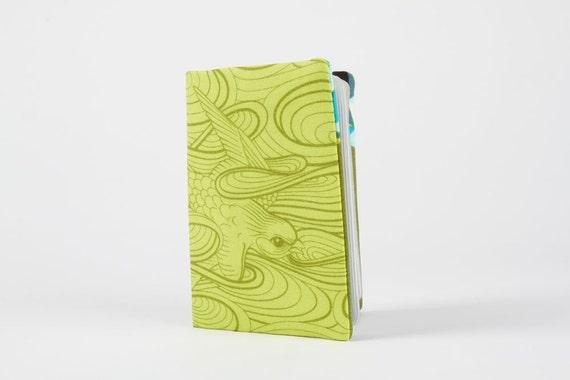 Card holder - Swallow skies in apple
