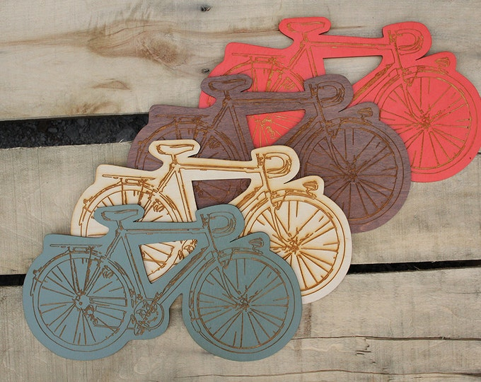 bike wall hanging - for bicycle lovers - gift for guys - under 20 dollar gift