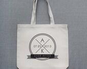 Nautical Inspired Durable Custom Tote Bag
