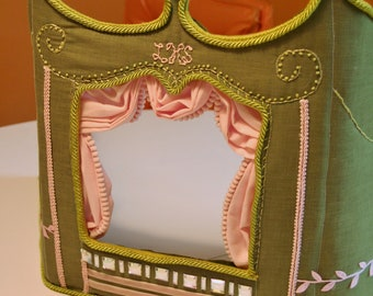 Custom Puppet Theater Made to Order Pick your colors
