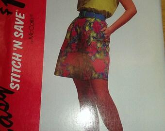 Easy Tank Style Top Walking Shorts McCalls 5924 8 10 12 14