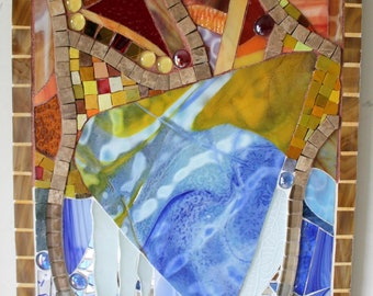 CLEARANCE SALE:  Mosaic, Stained Glass, Multi Media, Autumn, Winter, Seasons