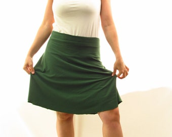 The Short Wrap Skirt - Organic Women's Clothing - Many Colors to Choose From