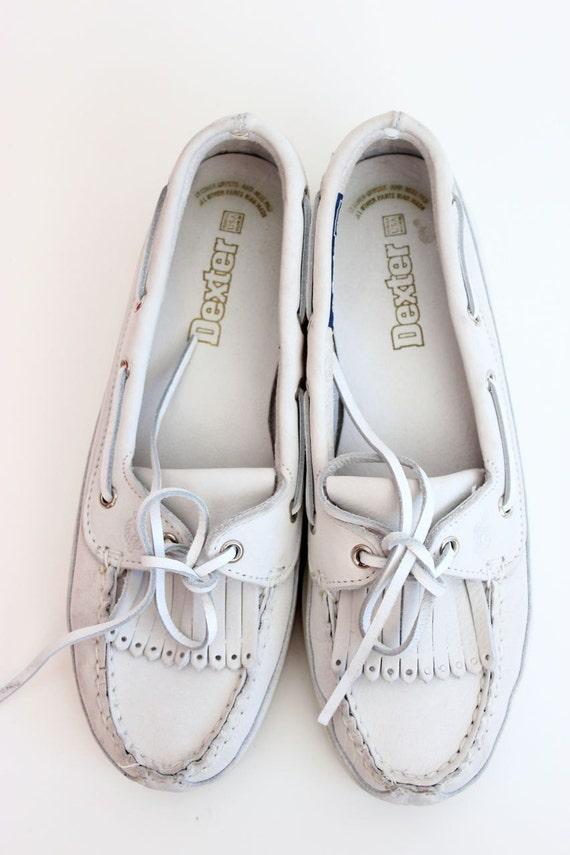 Women's Vintage Dexter Slip-on Loafer Moccasin Boat Shoes 7.5