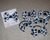 Soccer Girl Ponytail Holder Fan my Facebook page for exclusives