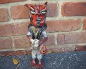 Folk Art Devil doll vintage look devil doll SALE