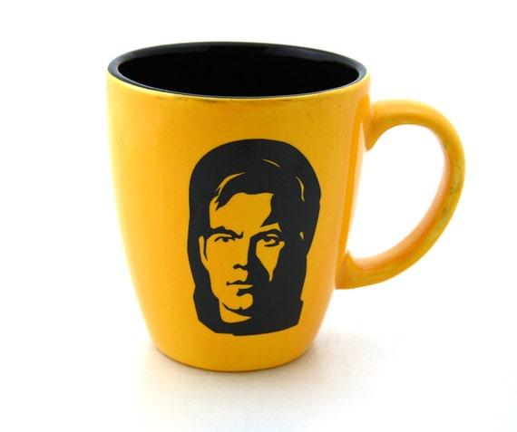 Mug Star Trek (R) Captain  Kirk  Fan Art Large