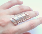 Hammered Statement Ring 30% off from now until the end of Monday. Simply use code CYBERMONDAY2012