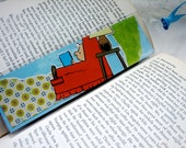 BOOKMARK - Charlie Brown Reads to Relax