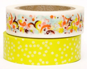 Decollections Masking Tape - Party & Polka Dots - Set 2 - Frank