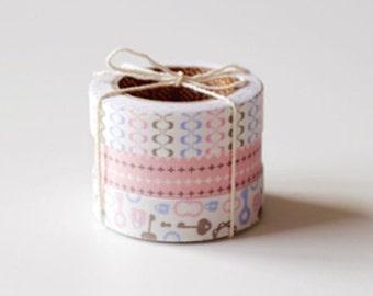 Nuage Fabric Masking Tape - Maze - Set 3