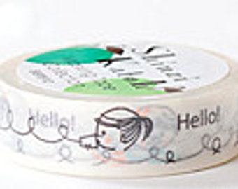 Shinzi Katoh Masking Tape - Hello on Telephone