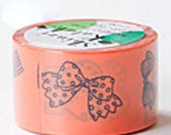 Shinzi Katoh Masking Tape - Ribbon in Orange