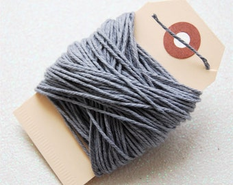 Solid Gray Twine 15 yards