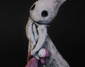 Ghost Poppet with Doll - Lisa Snellings for Halloween