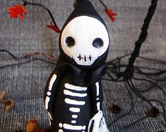 Skeleton Poppet - Lisa Snellings for Halloween