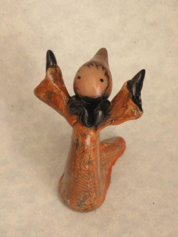 Orange Autumn's Dancer Poppet - Lisa Snellings