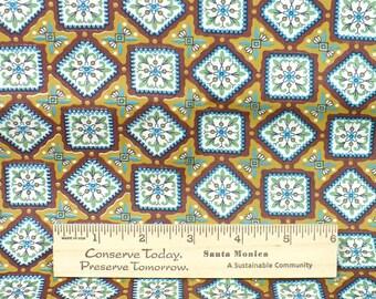 Vintage Fabric - Modern Geometric Retro small print, 1/2 YARD