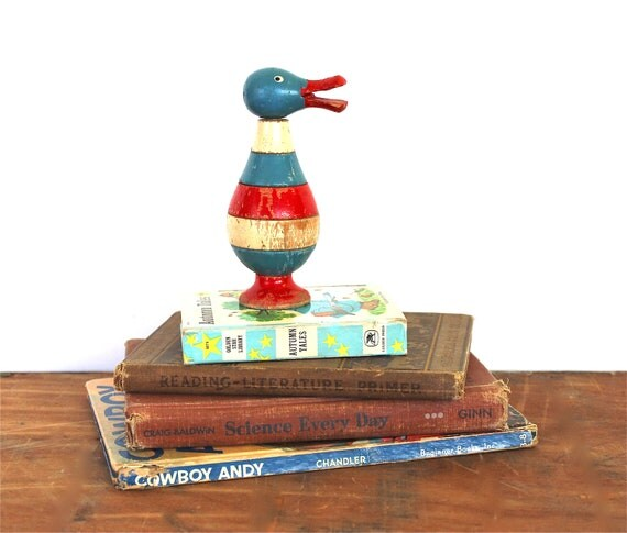 Stack a Duck - Vintage Stacking Toy - Vintage Puzzle