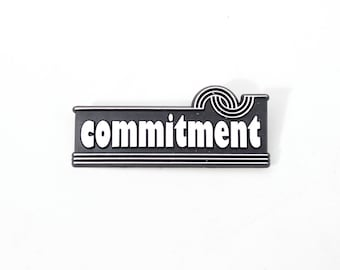 Show Your Commitment Pin